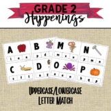Alphabet Uppercase Lowercase Matching Game A-Z