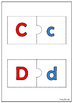 Uppercase/Lowercase Matching Puzzle