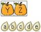 Uppercase & Lowercase Pumpkin Match