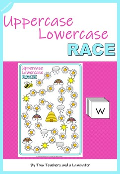 Uppercase Lowercase Race Board Game (Concepts of Print)