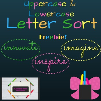 Uppercase & Lowercase Sorting Activity