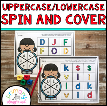 Uppercase-Lowercase Spin and Cover