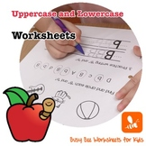 Uppercase Lowercase Worksheets