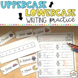 Uppercase Lowercase Writing Practice