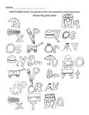 Uppercase - Lowercase activity Worksheets