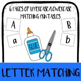 Uppercase & Lowercase Letter Match