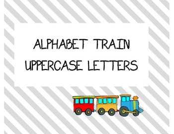 Uppercase Train Alphabet