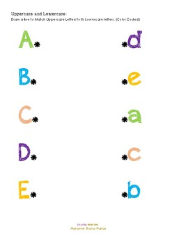 Uppercase and Lowercase