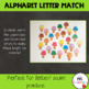 Uppercase and Lowercase Alphabet Letter Match Up Cards - Ice Cream