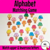 Alphabet Matching Game - Ice Creams
