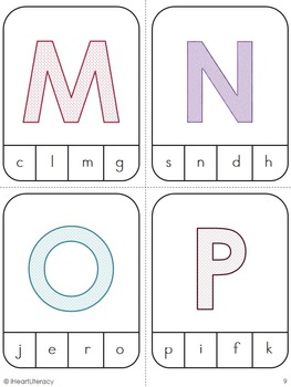 Uppercase and Lowercase Clip Game Kindergarten and 1st Grade RTI