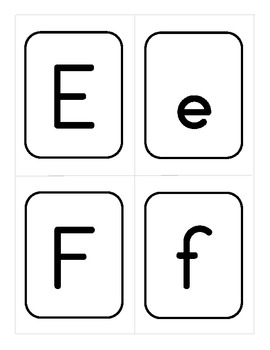 Uppercase and Lowercase Concentration