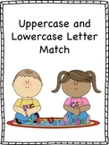 Uppercase and Lowercase Letter Match