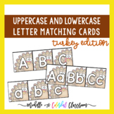 Uppercase and Lowercase Letter Matching - Alphabet Cards -
