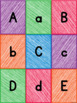 Uppercase and Lowercase Letter Matching Cards