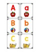 Uppercase and Lowercase Letter Matching Game