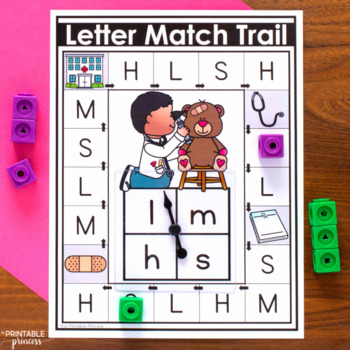 Uppercase and Lowercase Letter Matching Games