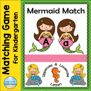 Uppercase and Lowercase Letter Matching - Mermaid Match