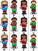 Uppercase and Lowercase Letter Matching School Themed