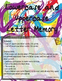 Uppercase and Lowercase Letter Memory