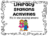 Uppercase and Lowercase Letter Review