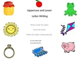 Uppercase and Lowercase Letter Writing