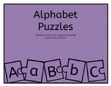 Uppercase and Lowercase Puzzle Sort