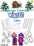 Uppercase and Lowercase Winter Edition