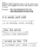 Uppercase Letters and Period in Sentences worksheets
