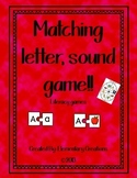 Matching letter, sound game!!