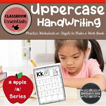 Uppercase Handwriting Worksheets