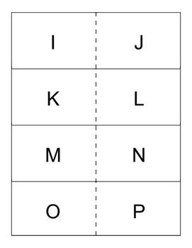 Uppercase letter flashcards