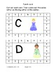 Uppercase letters princess hole punch letter recognition fine motor common core