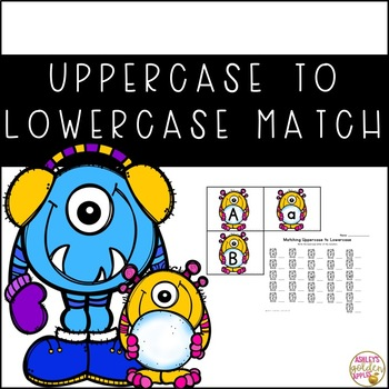 Uppercase to Lowercase Match - Winter Themed