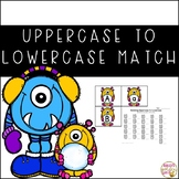Uppercase to Lowercase Letter Matching Activity