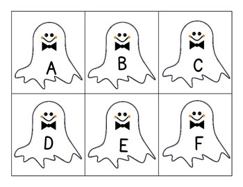 Uppercase/Lowercase Alphabet Ghost Match
