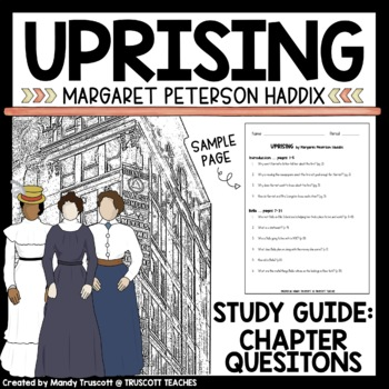"""Uprising,"" by Margaret Peterson Haddix Vocabulary and Questions"