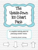 Upside Down 100 Chart Math Pack grade 1 (CCSS Aligned)