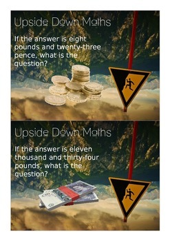 Upside Down Maths