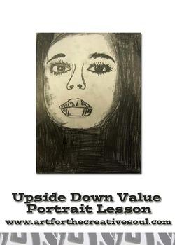 Upside Down Value Portrait