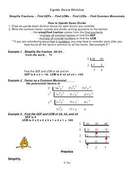 Upside-down Division