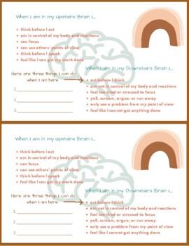Upstairs and Downstairs Brain