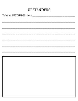 Upstander Worksheet