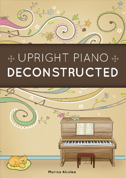 Upright Piano DECONSTRUCTED (Paper Craft Activity)