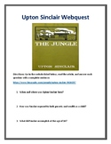 Upton Sinclair (Muckrakers) Webquest With Answer Key!