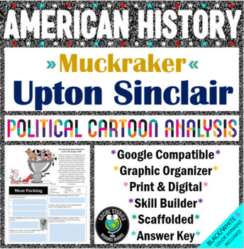 Political Cartoon Analysis - Upton Sinclair