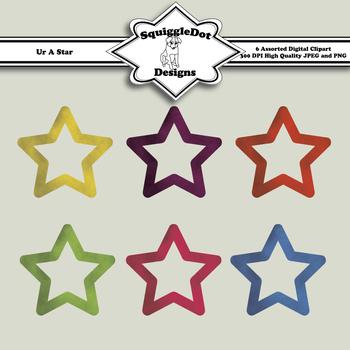 Ur A Star Clip Art