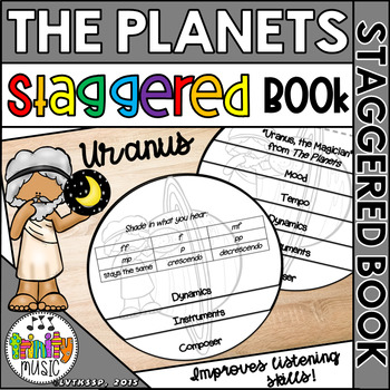 Uranus,the Magician from Holst's, The Planets (Staggered Booklet)