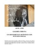 Urban Art in Salamanca (Barrio del Oeste)