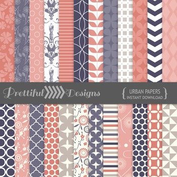 Urban Digital Paper Pack for Commercial Use